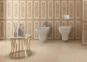 Gala_dorado_en_el_baño