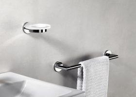 Cómo colocar los accesorios de baño