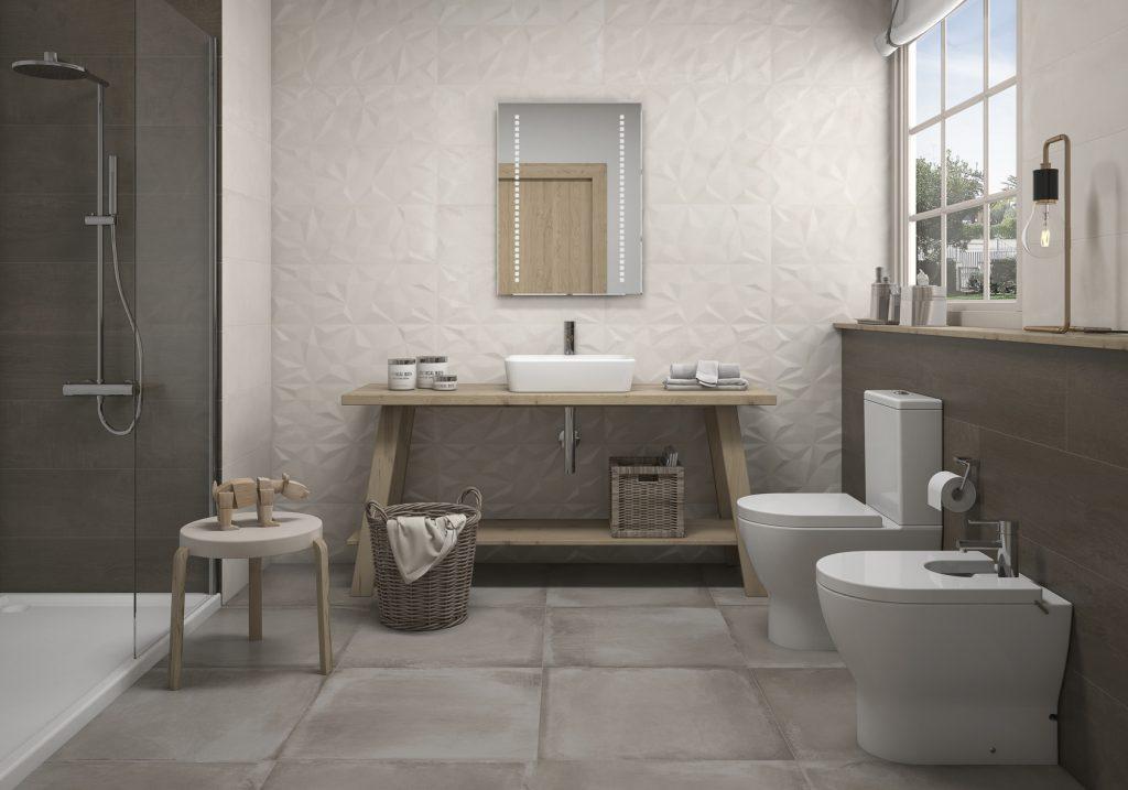 Taiga de Gala: uso de madera en el baño