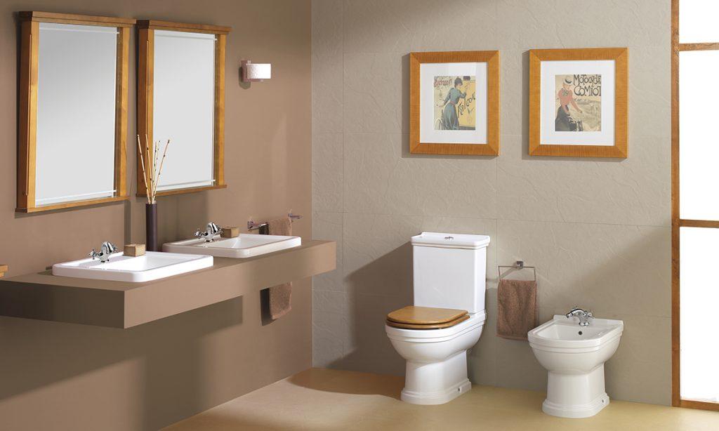 Colección Noble de Gala para un baño rústico