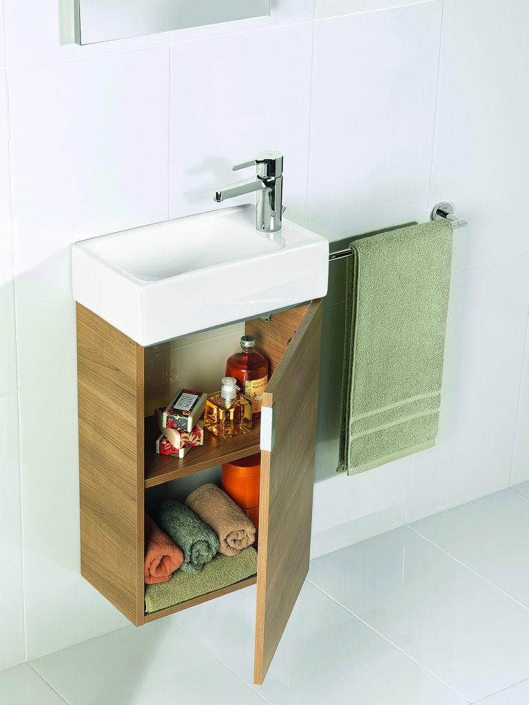 Mueble de baño para lavabos muy pequeños