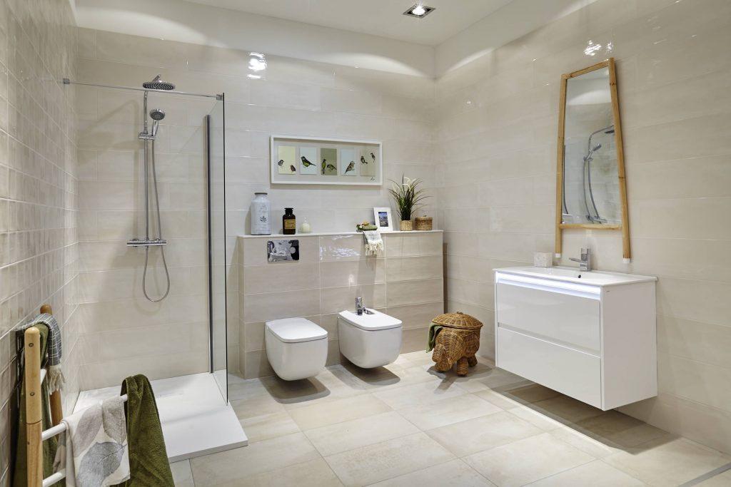 Baño rústico decorado con modelo Winter de Gala
