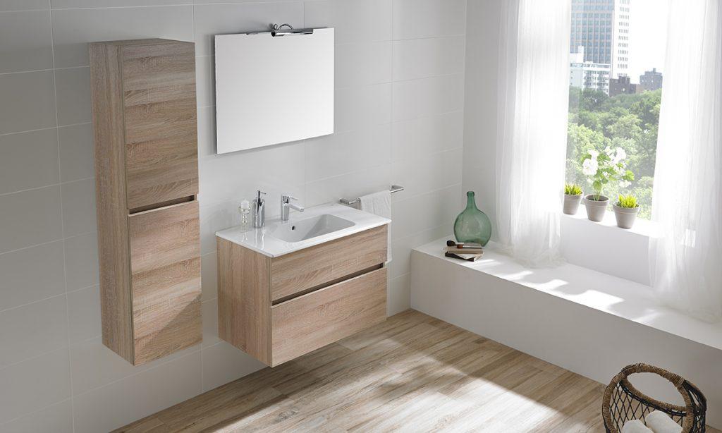 Muebles de diseño Jade ideales para un baño minimalista