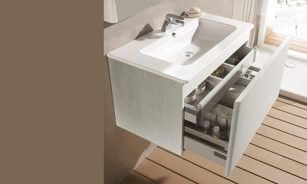 Mueble Emma blanco madera