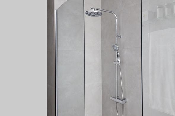 Columna de ducha Vera para instalar un baño de obra