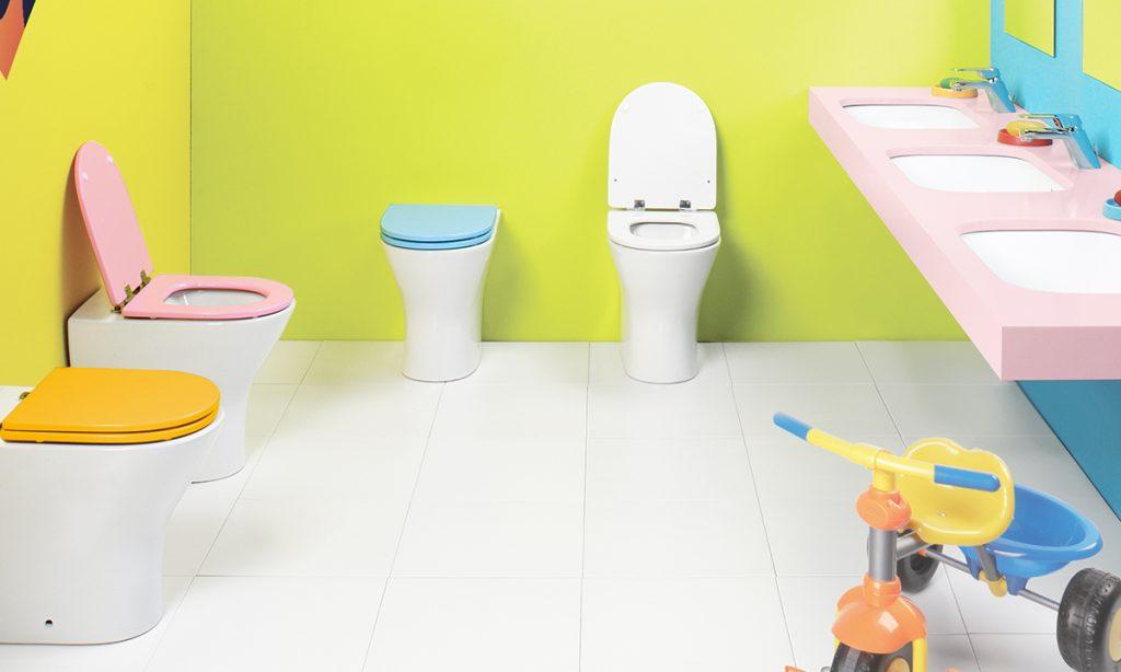Baby WC de Gala para niños en baños públicos