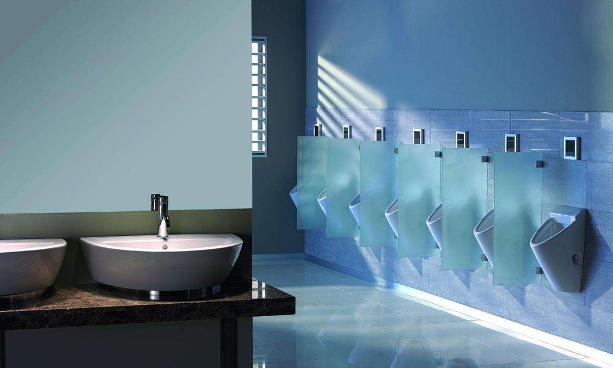 Urinarios de Gala con estilo para baños públicos