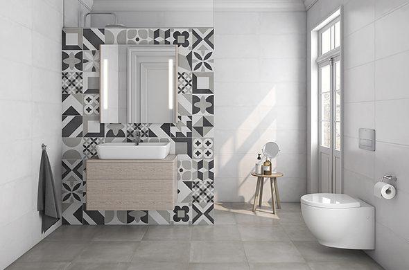 Modernizar un baño viejo