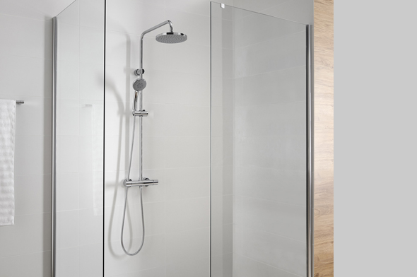 Grifo de ducha con cal