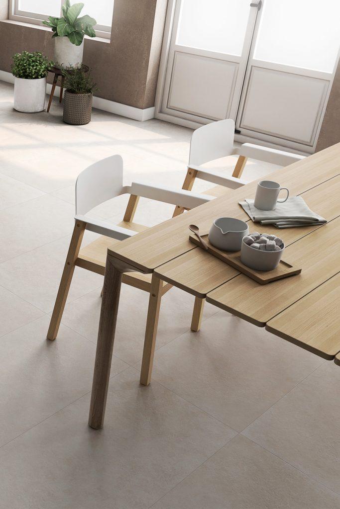Decora tu terraza con estilo minimalista y cerámica Mine