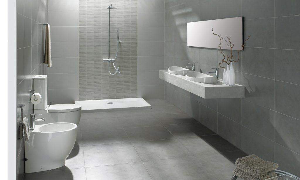 Ceramica Berlin de Gala para baños grises