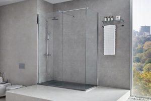 Mampara Walk-in N para duchas modernas