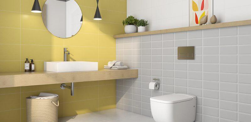Distribución baños pequeños