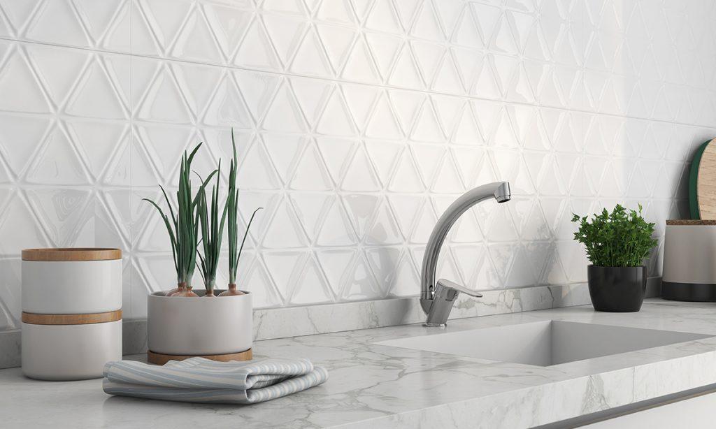 azulejos para cocinas en blanco