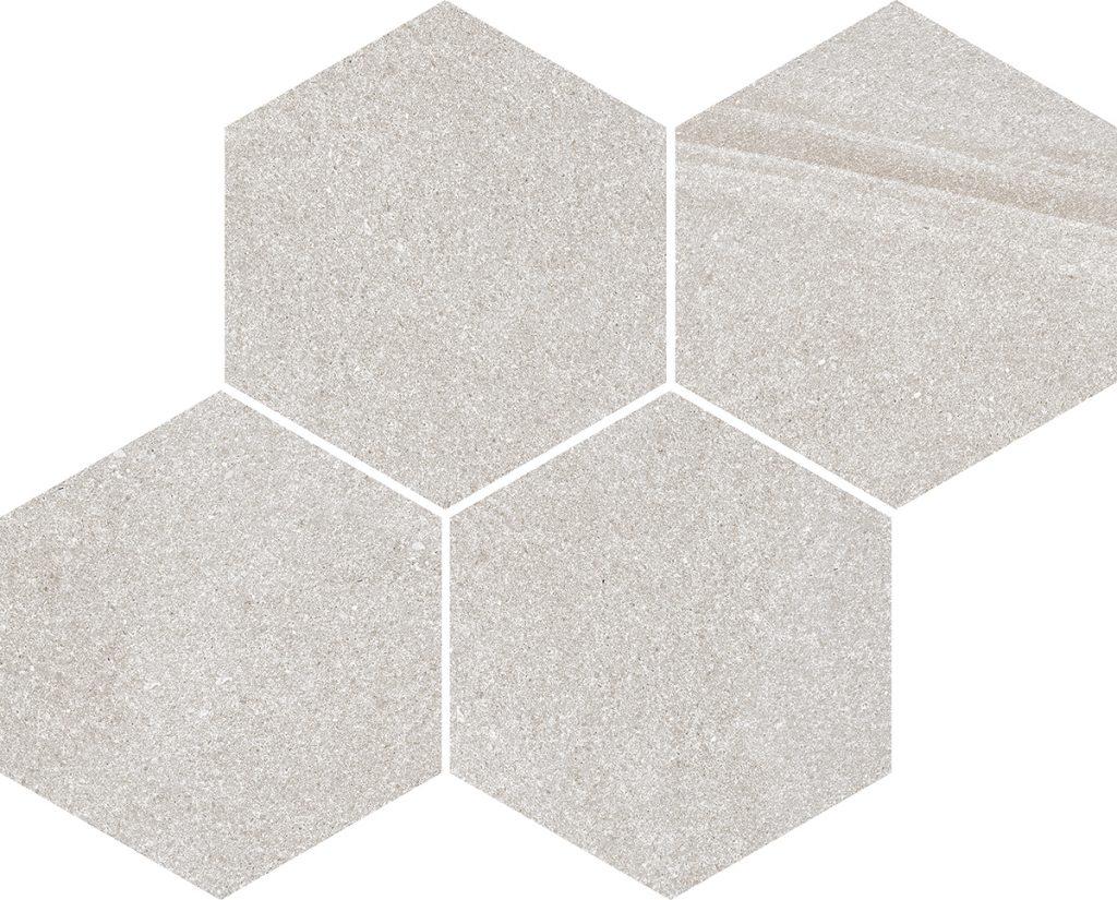 azulejos hexagonales geométricos
